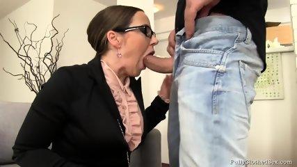 Sex Through Torn Pantyhose - scene 3