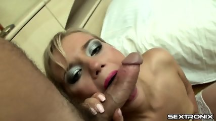 Big Cock In Her Ass And Pussy - scene 3