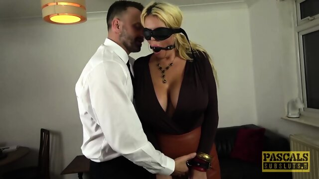 PASCALSSUBSLUTS – Busty British MILF Shannon Boobs Dominated