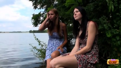 Threesome By The Lake - scene 1