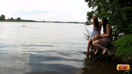 Threesome By The Lake - scene 2
