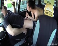 Crazy Action In Taxi