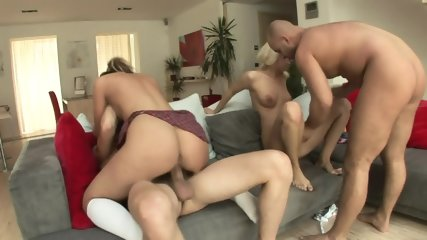 Two Couples Anal Orgy - scene 6