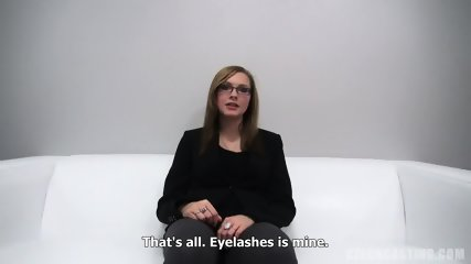 Sweet Amateur With Glasses At The Sex Casting - scene 3