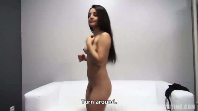 European Cutie Takes Dick