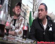 Brunette Dutch Hooker Banged By Tourist