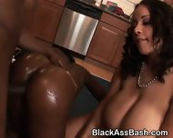 Black Girls With Huge Asses Riding Dick In The Kitchen