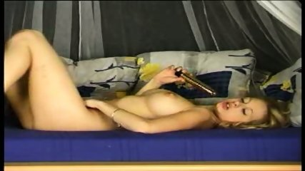 Hot sexy Katty and her dildo - scene 6