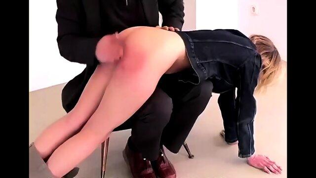Quick otk spanking for Linda