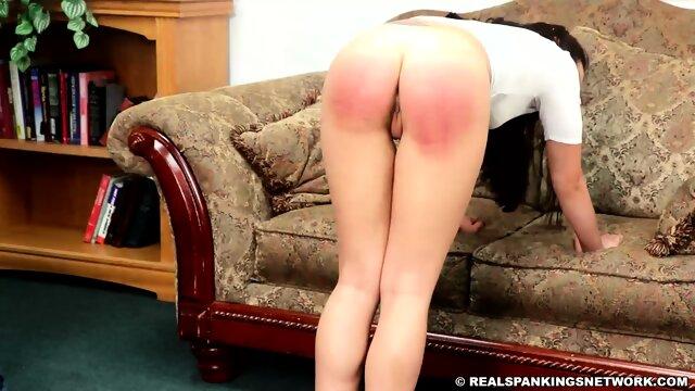 Asian babe Covid-free spanking