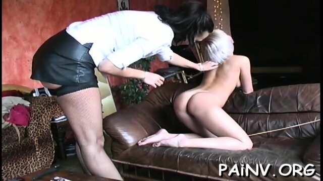 Girl gets tied up and tortured