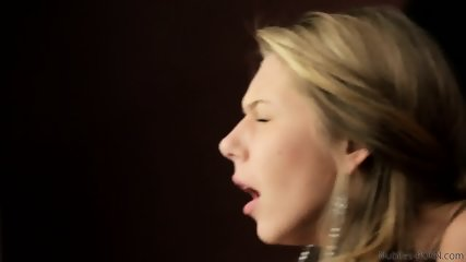 Glam Blonde Plays With Dick - scene 9