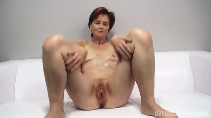 Mature Redhead Takes Dick At The Casting