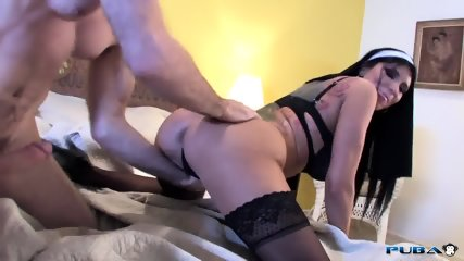 Naughty Nun Loves Anal Sex - scene 3