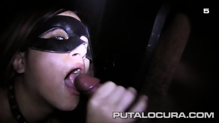 Masked Cum Eater In Action - scene 7
