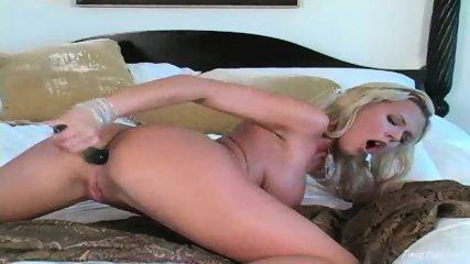 Extreme dildo masturbation 1 - scene 12