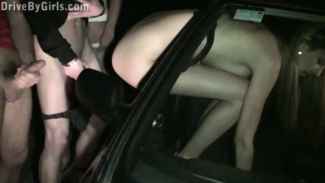 Kitty Jane Public Gangbang Through Car Window