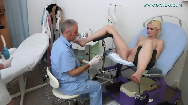 Doctor Checks Her Cunt