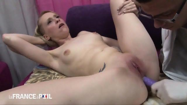 Horny Doctor Checks Her Anus