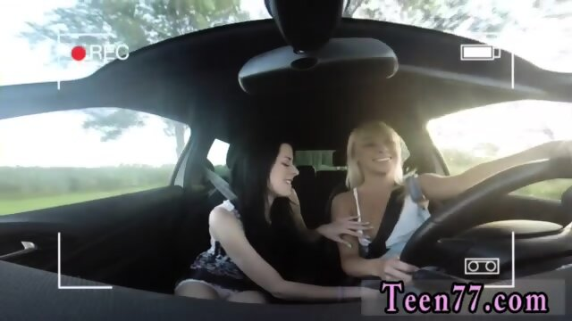 Hot young blonde lesbians Going for a ride