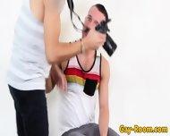 Thickcock Model Drills Tattooed Photographer - scene 2
