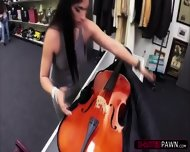 Hot And Sexy Brazillian Lady Wants To Sell Her Cello Gets Her Fucked - scene 1