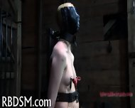 Tied Up Tits With Toy Pleasuring - scene 9