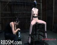 Tied Up Tits With Toy Pleasuring - scene 11