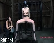 Tied Up Tits With Toy Pleasuring - scene 12
