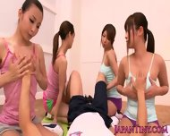 Tiny Asian Toyed Through Her Panties Pov - scene 3