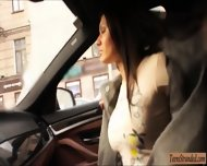 Sexy Amateur Stranded Teen Kitana Lure Smashed In The Car - scene 2