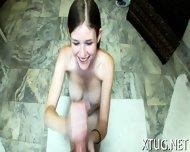 Seductive Babe Makes Handjob - scene 10