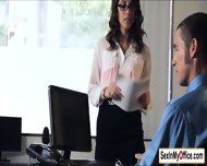 Secretary Jade Nile Strips For Her Boss While In A Conference Call - scene 1