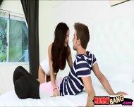 Big Tits Milf Ariella Ferrera Horny 3way With Teen Couple - scene 1