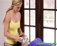 Sexy Busty Lesbo Massage