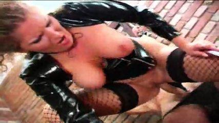 Mature Dominatrix uses her Slave - scene 5