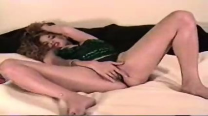 Ashley has fun with her dildo - scene 2