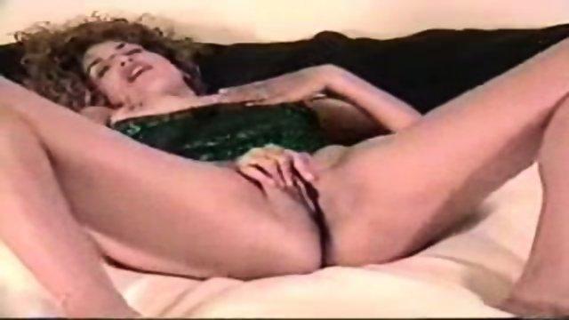 Ashley has fun with her dildo