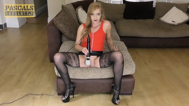 PASCALSSUBSLUTS – UK Amelia Grace Squirts And Rides Big Dick