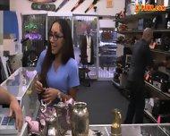 Girl Desperately Needs Money Gets Banged At The Pawnshop