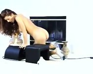 Orgasm on the Sybian - scene 1