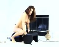 Orgasm on the Sybian - scene 3