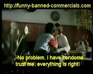 Banned Commercial - Flavoured Condoms - scene 9