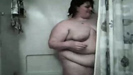 Fat Bbw Girl Mastrubate In The Shower - scene 8