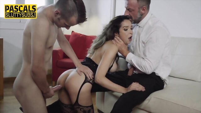Hot bdsm amateur gags on cock