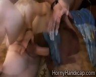 Naughty Ebony Midget Enjoys A Hefty White Dick With Her Little Snatch