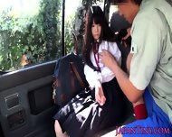 Tiny Japanese Schoolgirl Mouth Fucked