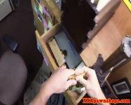 Amateur Pawnshop Blonde Sucks Dick Pov Style - scene 8