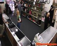 Amateur Pawnshop Blonde Sucks Dick Pov Style - scene 3