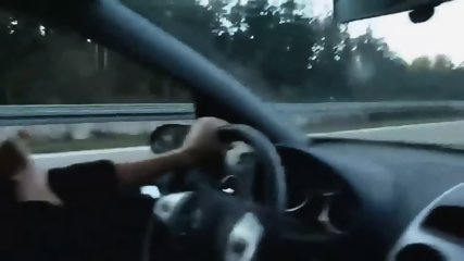 Stunning Lady Strokes Cock While Driving - scene 12